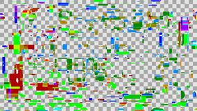 Abstract digital background color glitch. Technology design and. Style. Vector illustration royalty free illustration