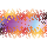 Abstract digital background with colorful pixels Royalty Free Stock Photo