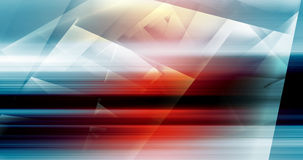 Abstract digital background with colorful polygons Stock Image