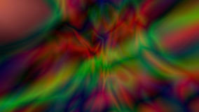 Abstract digital background consisting of psychedelic art. 3d illustration Stock Image
