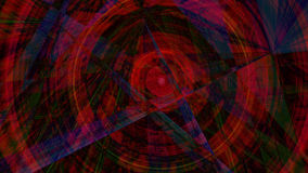 Abstract digital background consisting of psychedelic art Royalty Free Stock Photos