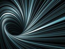 Abstract Digital Background, Dark Spiral Tunnel