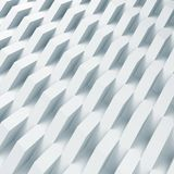 Abstract digital background, geometric relief. Pattern. 3d render illustration Stock Image