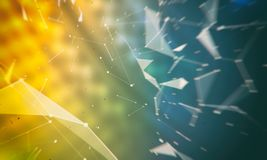 Abstract digital background for miscellaneous use. For wallpapers and backgrounds Royalty Free Stock Image