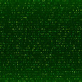 Abstract digital binary code background. Vector illustration Stock Illustration