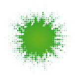 Abstract digital blob. (dotted design series stock illustration