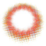 Abstract digital blob halftone flash. plus EPS10 Stock Image