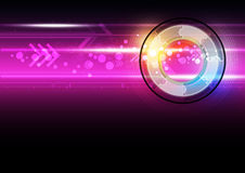 Abstract digital button technology. Abstract digital button and technology Royalty Free Stock Photography