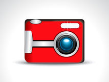 Abstract digital camera icon Royalty Free Stock Images