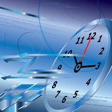 Abstract digital clock background,time concept Royalty Free Stock Images