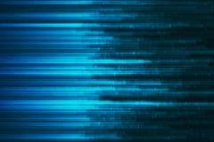 Abstract digital code visualization. Big data code representation. Stream of encoded data Royalty Free Stock Images