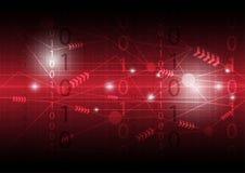 Abstract digital communication Stock Photo