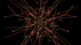 Abstract digital dark background. Silk symmetry series vector illustration