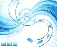 Abstract digital design. Stock Photos