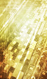 Abstract digital enterprise background design.  Stock Photography
