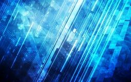 Abstract digital enterprise background design.  stock illustration