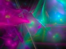 Abstract digital fractal galaxy pattern disco power background, beautiful design pattern, blur. Abstract digital fractal background beautiful design pattern royalty free illustration