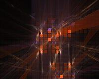 Abstract fractal style magic vibrant modern pattern chaos illustration fantasy design background dynamic. Abstract digital, fractal fantasy design background stock illustration