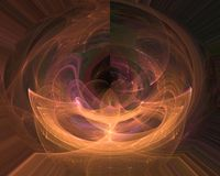 Abstract fractal style magic rendering chaos fantasy design background dynamic. Abstract digital, fractal fantasy design background       style  chaos  modern stock illustration
