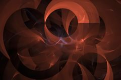 Abstract fractal chaos modern effect curve glow shine bright fantasy design creative futuristic. Abstract digital fractal fantasy design power creative stock illustration