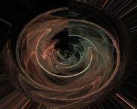 Abstract digital fractal futuristic fantasy design background dynamic. Abstract digital, fractal fantasy design background dynamic futuristic vector illustration