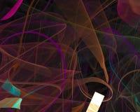 Abstract fractal motion concept effect ethereal wallpaper banner , backdrop science backdrop. Abstract digital fractal modern surreal backdrop glow magic pattern vector illustration