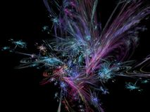 Abstract digital future background ethereal science. Abstract digital background future ethereal science stock illustration