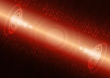 Abstract digital future technology. Concept background. Royalty Free Stock Images
