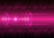 Abstract digital future technology. Concept background. Stock Images