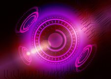 Abstract digital future technology. Concept background. Royalty Free Stock Photography
