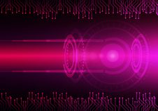 Abstract digital future technology. Concept background. Stock Photos
