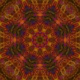 Abstract digital kaleidoscope graphic texture wallpaper creative mandala, color ornament, decor background. Abstract digital kaleidoscope mandala, ornament stock photo