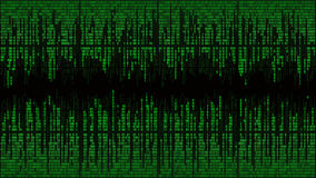 Abstract with digital lines, binary code, matrix background with digits, frame Royalty Free Stock Photography