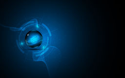 Abstract digital networking innovation concept design background. Eps 10 Vector Illustration