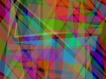 Abstract Digital Overlapping Triangle Pattern stock photos