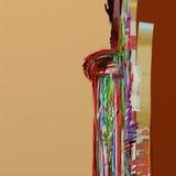 Abstract digital painting illustration Royalty Free Stock Photos