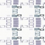 Abstract digital painting in violet and grey. Royalty Free Stock Photos