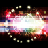 Abstract digital pixel background Royalty Free Stock Photos