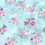 Flower digital print pattern background. Abstract digital print pattern backgroundn print allover print ndress print textile texture stock illustration