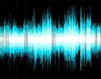 Abstract digital sound wave background Royalty Free Stock Images