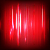 Abstract digital Sound waves with flowing particles. Cyber or technology background. Stock Photography