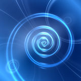 Abstract digital spiral background Royalty Free Stock Photos