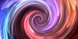 Abstract swirl backdrop. Abstract digital swirl backdrop. 3D Rendering stock illustration