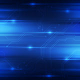 Abstract digital technology concept background, vector illustration Royalty Free Stock Images