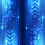 Abstract digital technology concept background, vector illustration Stock Images