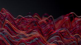 Abstract Digital Waves.
