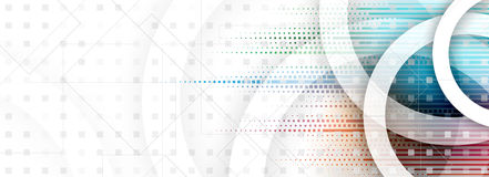 Abstract digital web site header. Banner background Stock Photo
