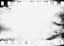 Abstract dirty or aging film frame. Dust particle and dust grain texture or dirt overlay use effect for film frame with space for your text or image and Stock Photos