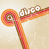Abstract disco background. Stock Image