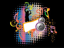 Abstract disco background Royalty Free Stock Image